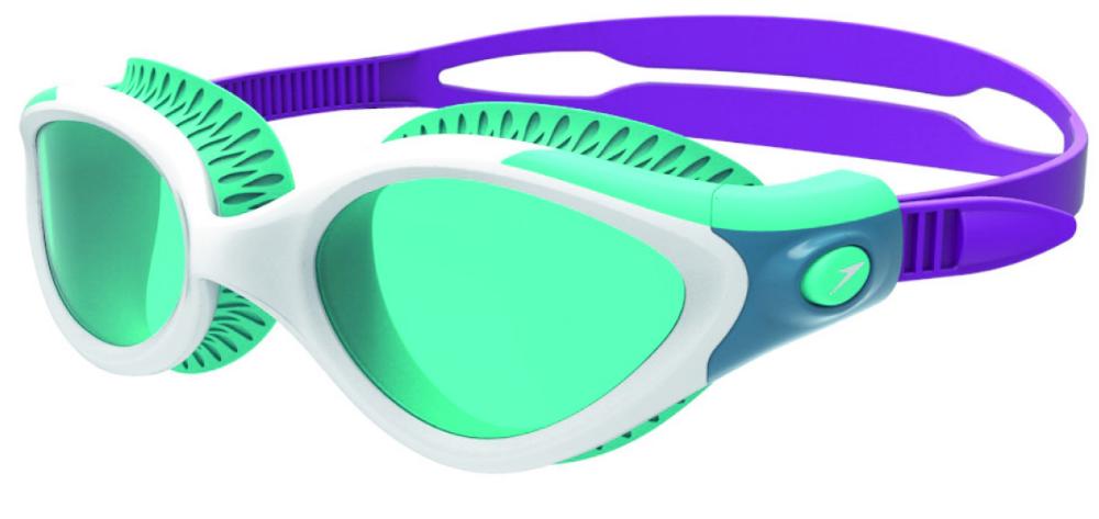 Speedo Biofuse zwembril wit