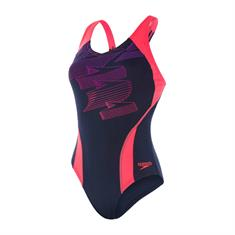 Speedo End Boom Pl dames badpak marine