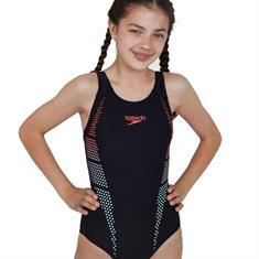 Speedo Muscleback 08324.D806 meisjes badpak zwart