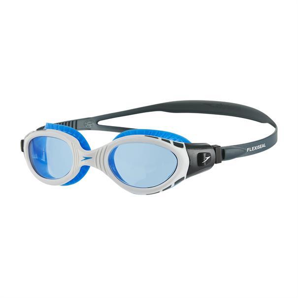 Speedo zwembril licht grijs