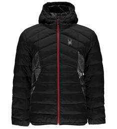 Spyder Geared Hoody heren all season jas donkergroen