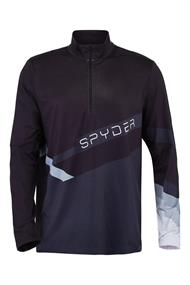 Spyder Mandate heren ski pulli zwart