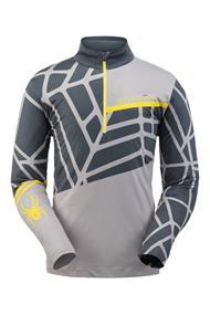 Spyder Vital heren ski pulli midden grijs