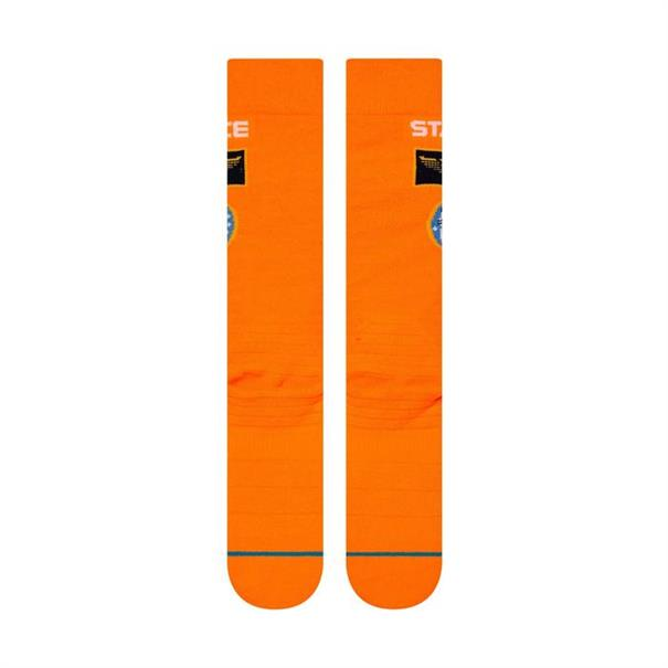 Stance Snow Launch Pad skisokken oranje