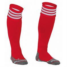 Stanno Ring Sock voetbalsokken rood