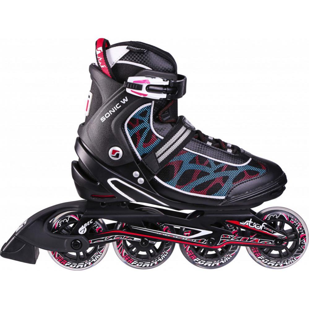 7e36044692a Stuf 1002547.9545 sonic women inline skates / skeelers zwart van ...