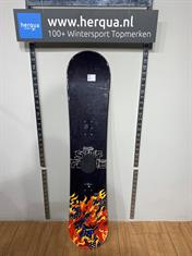 Stuf 25-621 Flame kinder board gebruikt zwart
