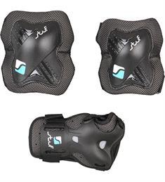 Stuf Performance Protectie set SR beschermset zwart