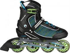Stuf Sonic 20 Alu inline skates / skeelers zwart