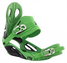 Stuf Style Green snowboard bindingen groen