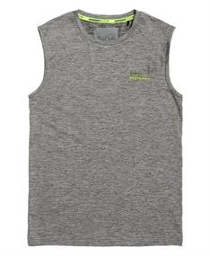 Super Dry Active graphic tank heren singlet antraciet