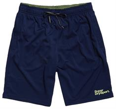Super Dry Active Relaxed Short heren sportshort marine