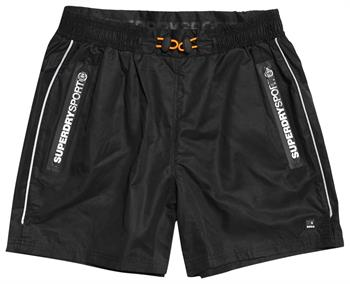 Super Dry Active TrainingShort Heren sportshort ZWART