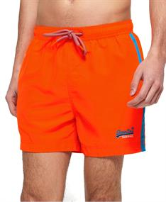 Super Dry Beach Volley Swim heren beach short oranje