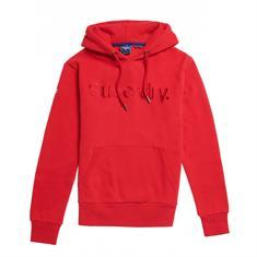Super Dry Cl Source Hood heren casual sweater oranje