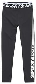 Super Dry Core 7/8 Legging dames tight zwart