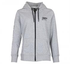 Super Dry Core Sport Ziphood heren sportsweater licht grijs