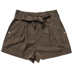 Super Dry Desert Paper Bag Shorts dames short bruin