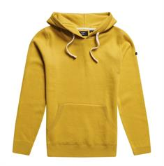 Super Dry Essential Cotton Hood dames sweater oker
