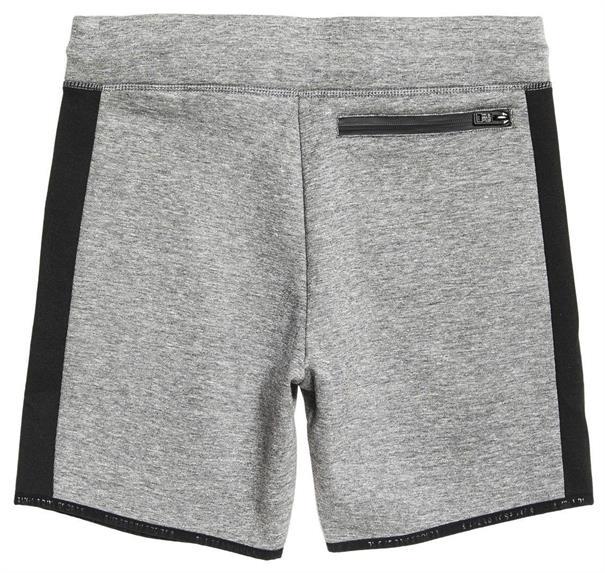 Super Dry Gym Tech StripeShort heren sportshort licht grijs