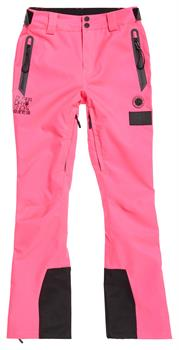 Super Dry New Snow Pant Dames skibroek pink