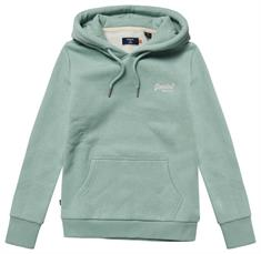 Super Dry Ol Classic Hood dames sweater mint