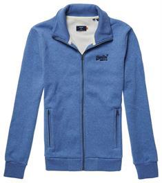 Super Dry OL Classic Track Top heren casual sweater kobalt