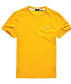Super Dry Ol Vintage EMB heren shirt geel