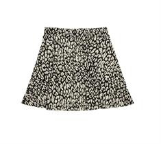 Super Dry Riley Skater Skirt dames casual rok zwart dessin