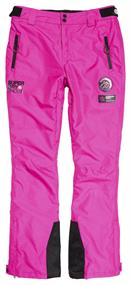 Super Dry Ski Run Pant dames skibroek pink