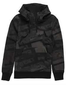 Super Dry Snow Tech Hood heren soft shell jas donkergroen