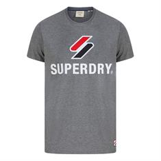 Super Dry Sportstyle Classic Tee heren shirt antraciet