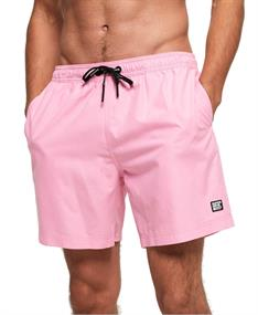 Super Dry Surplus Swimshort heren beach short pink
