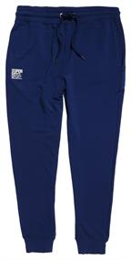 Super Dry Training Flex Jogger heren sportbroek marine