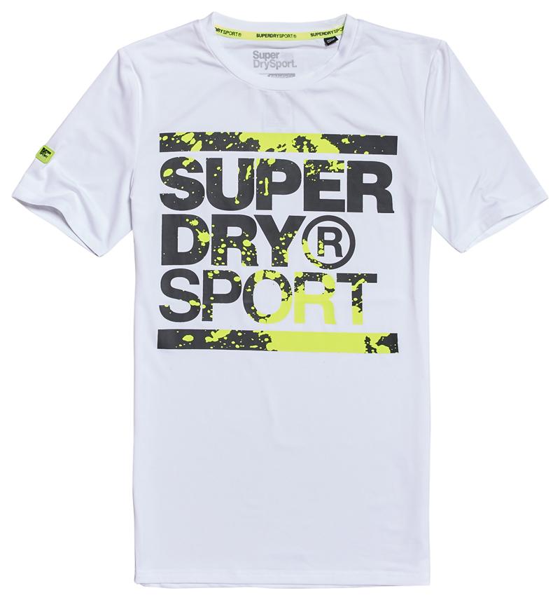 Super Dry Training Graphic Tee heren sportshirt