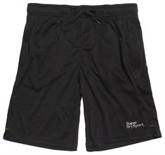 Super Dry Training Short heren sportshort zwart