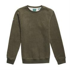 Super Dry Vintage Logo EMB Crew heren casual sweater groen