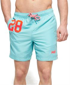 Super Dry Water Polo Swim heren beach short bleu