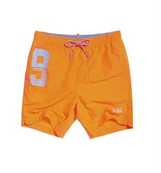 Super Dry Waterpolo Swim Short heren beach short oranje