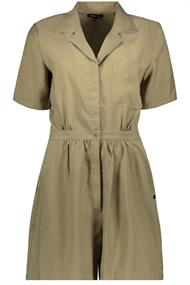 Super Dry Wide Leg Playsuit dames jurk casual khaki