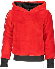 Super Rebel 909.5301.251 meisjes casual sweater rood