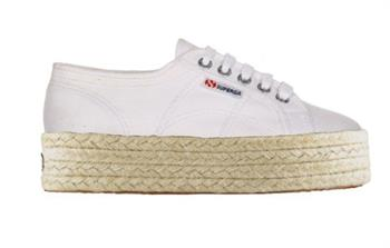 Superga Cotropew Dames sneakers WIT