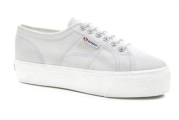 Superga Linea up and Down Dames sneakers WIT