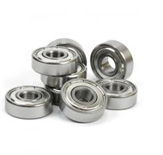 Sushi Abec 7 Chrome Steel 8 Pack lagers licht grijs
