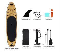 Swell 10.6'' Complete Set! supboard bruin dessin