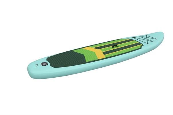 Swell 11.5'' Complete Set! supboard aqua-azur