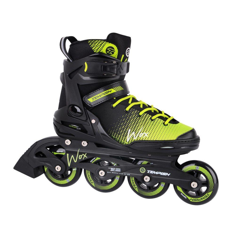 Tempish WOX 84 Black Green inline skates-skeelers