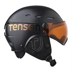 Tenson Core Visor skihelm sr zwart
