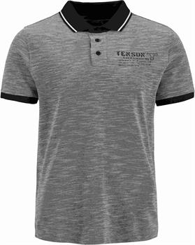 Tenson Ermano Men Polo Heren polo Denim