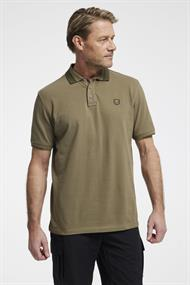 Tenson Essential Polo heren polo khaki